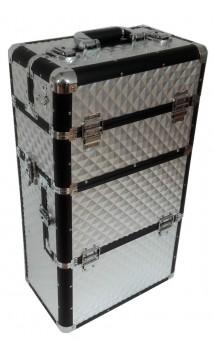 Kosmetinis lagaminas su ratukais