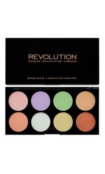 Makeup Revolution Ultra Base Corrector maskuoklių paletė