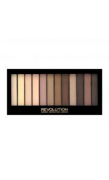 Makeup Revolution Essential Mattes 2 akių šešėlių paletė