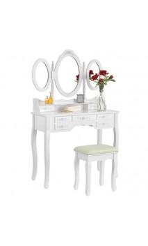 Kosmetinis stalas su veidrodžiu