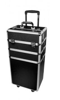 Mėgėjiškas lagaminas su ratukais