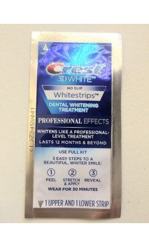 Crest 3D White Professional Effects 1vnt