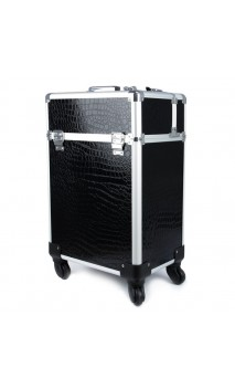 Kosmetinis lagaminėlis su ratukais