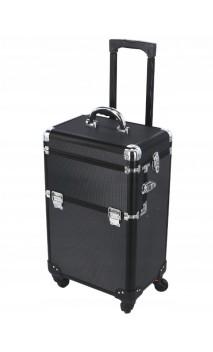 Kosmetikos lagaminėlis su ratukais